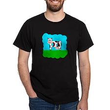 Black Holy Cow! T-shirt