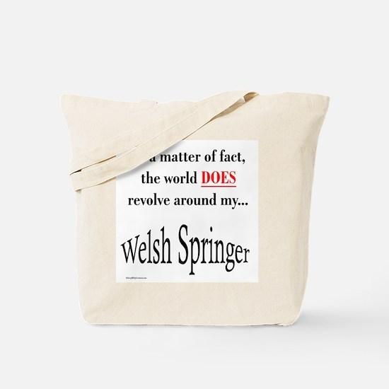 Welsh Springer World Tote Bag