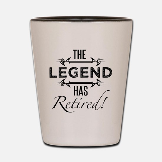 Cool Legendary Shot Glass