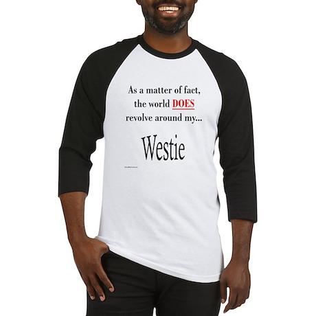 Westie World Baseball Jersey