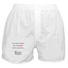 Westie World Boxer Shorts