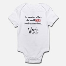 Westie World Infant Bodysuit