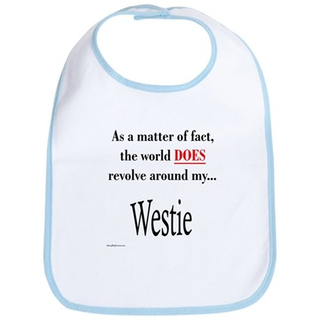 Westie World Bib