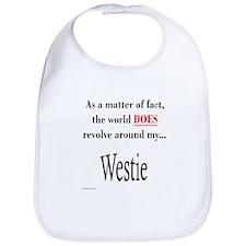 Westie World Bib