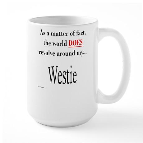 Westie World Large Mug