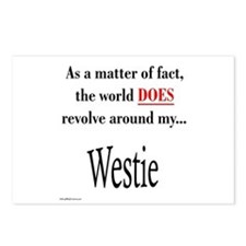 Westie World Postcards (Package of 8)