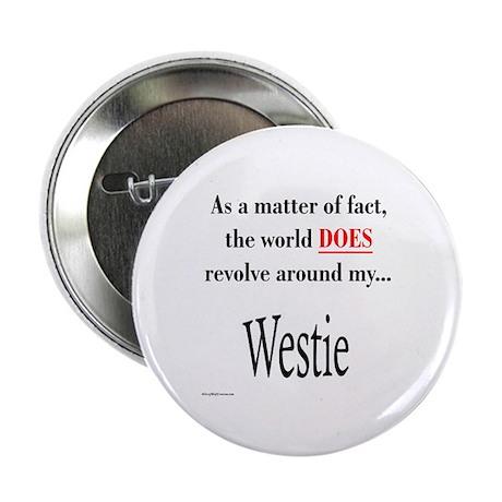 Westie World Button