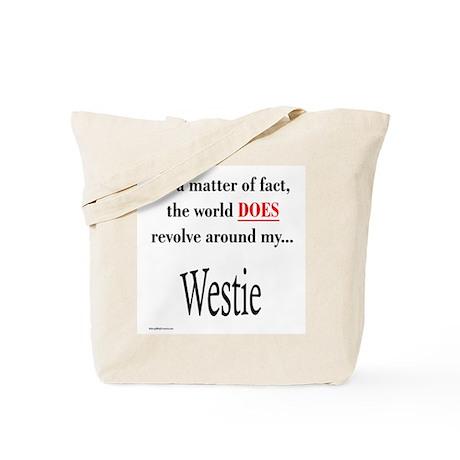 Westie World Tote Bag