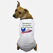 nursing blue bird ob Dog T-Shirt