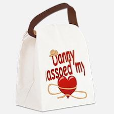 danny-b-lassoed Canvas Lunch Bag