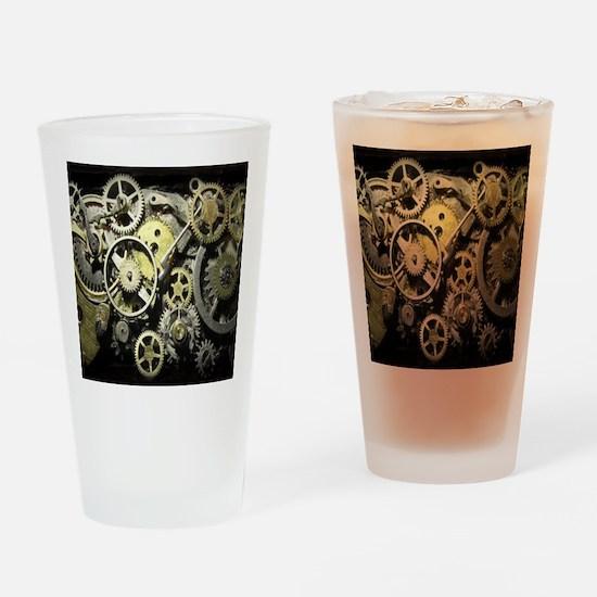 GearsBLANKET Drinking Glass