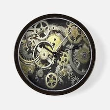 GearsBLANKET Wall Clock