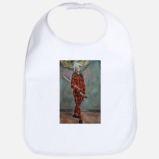 Harlequin - Paul Cezanne - c1888 Cotton Baby Bib