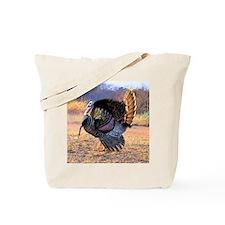 Wild turkey gobbler Tote Bag