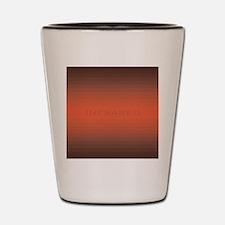 Infrared square Shot Glass