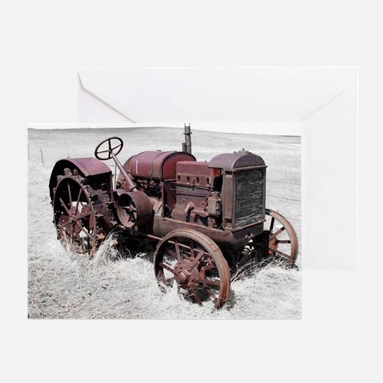 TRACTOR MP Greeting Card