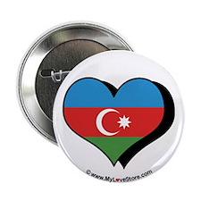 """I Love Azerbaijan 2.25"""" Button (100 pack)"""