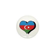 I Love Azerbaijan Mini Button (100 pack)