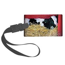 Cow Photo Luggage Tag