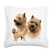 Cairn blanket Square Canvas Pillow