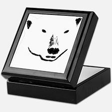 Andy plain white face transparent bac Keepsake Box