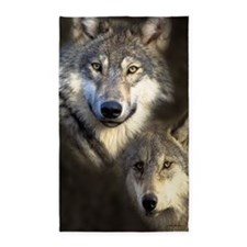 Wolfpack 3'x5' Area Rug