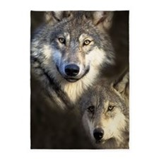 Wolfpack 5'x7'Area Rug