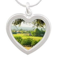 summergreet Silver Heart Necklace