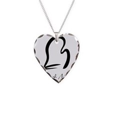 MittForMitt graphic Necklace Heart Charm