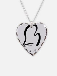 MittForMitt graphic Necklace Heart Charm