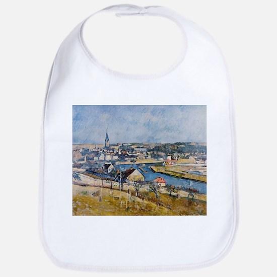 landscape of the Ile-de-France - Paul Cezanne - c1