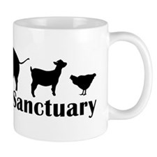 animal hat Mug