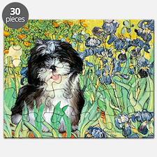 Irises - Shih Tzu 12 Puzzle