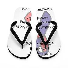 Kiara survivor Flip Flops