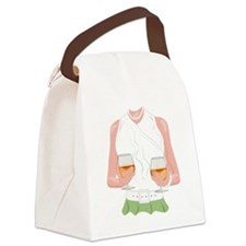 Warming Some Brandy 2 Canvas Lunch Bag