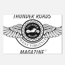 old_Thunder-roadsblack Postcards (Package of 8)