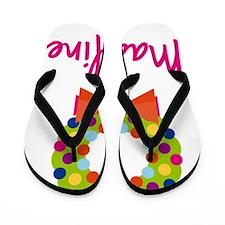Christmas-wreath-Madeline Flip Flops