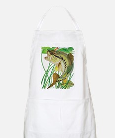 Largemouth Bass with Lily Pads copy Apron