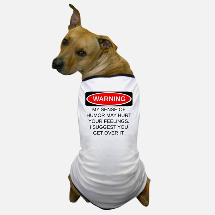 Warning Dog T-Shirt