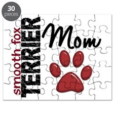 D Smooth Fox Terrier Mom 2 Puzzle
