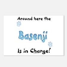 Basenji Charge Postcards (Package of 8)