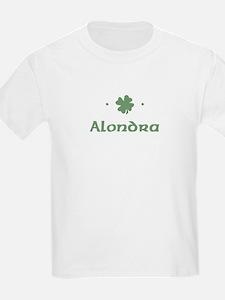 """Shamrock - Alondra"" Kids T-Shirt"