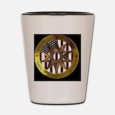 Area 51 SSSS Badge Shot Glass