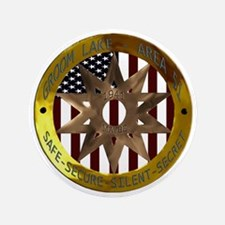"""Area 51 SSSS Badge 3.5"""" Button"""