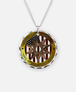 Area 51 SSSS Badge Necklace