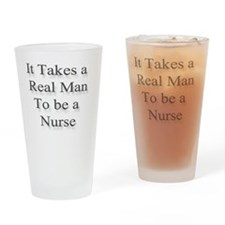 realmanNurse Drinking Glass