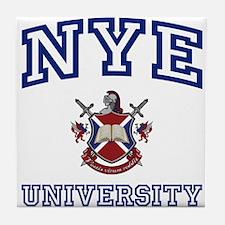 NYE University Tile Coaster