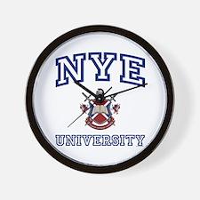 NYE University Wall Clock