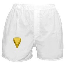 Big Cheese White Boxer Shorts