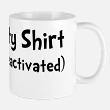 Invisibility Shirt Black Mug